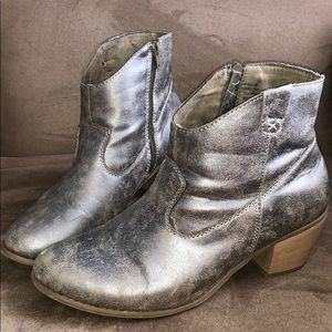 Lane Bryant Western Ankle booties size 10W